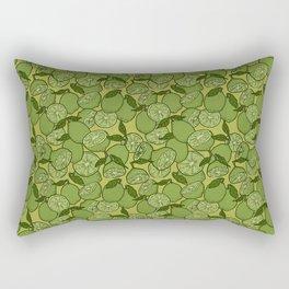 Lime Greenery Rectangular Pillow