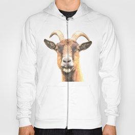 Goat Portrait Hoody