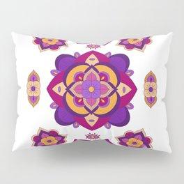 Mandala-Purple and Pink Pillow Sham