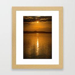 Lake Balaton, Hungary Framed Art Print