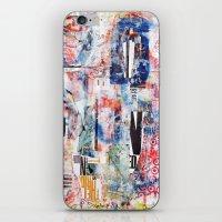 chicago bulls iPhone & iPod Skins featuring Bulls Eye by Denzel Boyd