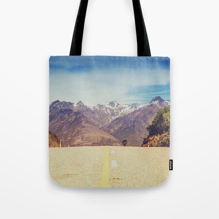 Long Mountain Road Tote Bag