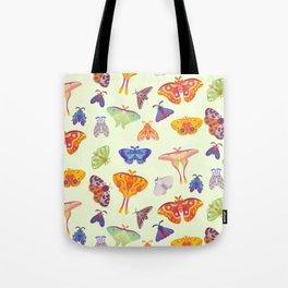Moth - pastel Tote Bag