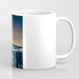 Fremont Bridge at Night Coffee Mug