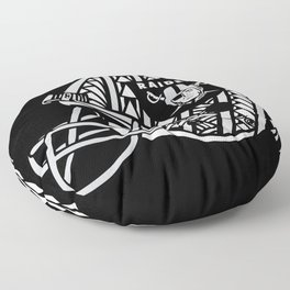 Polynesian Style Raiders Floor Pillow