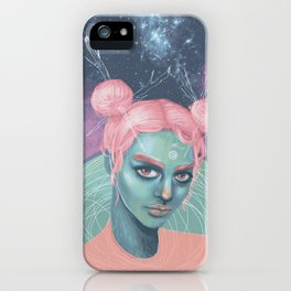Wild Cotton Candy iPhone Case