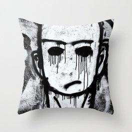 Stephens Graffiti Throw Pillow
