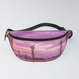 Piazza San Marco and Palazzo Ducale in Venice Fanny Pack