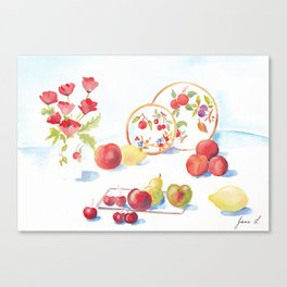 Assorted Still Life Canvas Print