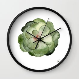 Round Earth Wall Clock