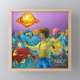 Khap Xung Quanh - Ngot Framed Mini Art Print
