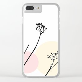 Simply Nature Clear iPhone Case