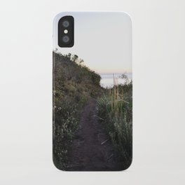 the path not taken iPhone Case