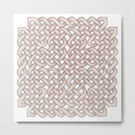Celtic Knot Square Metal Print