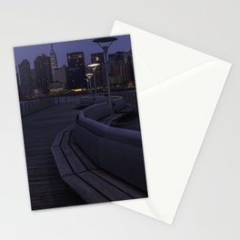 Midtown Manhattan skyline Stationery Cards