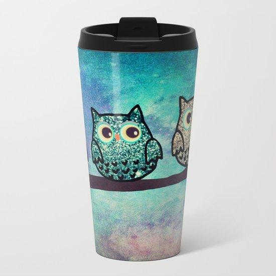 owl-45 Metal Travel Mug