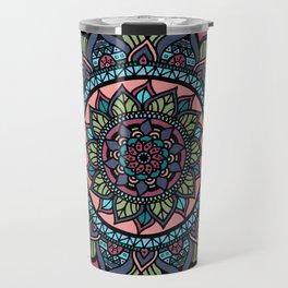 The Early Spring Mandala Travel Mug