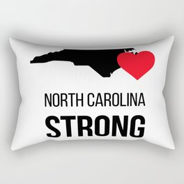 North Carolina strong / Hurricane season Rectangular Pillow