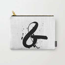 ink ampersand Carry-All Pouch