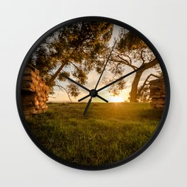The door to a new tomorrow Wall Clock