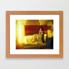 Henry Ossawa Tanner The Annunciation Framed Art Print