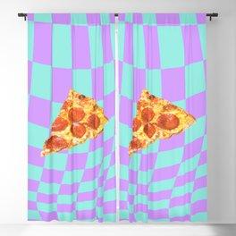 Warped (pizza) Blackout Curtain