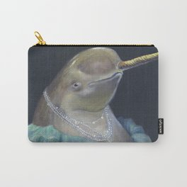 MADAME NARWHAL, by Frank-Joseph Carry-All Pouch