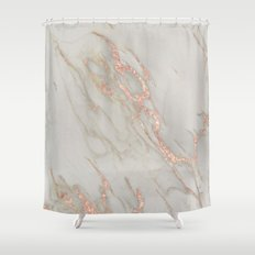 gold and pink shower curtain. Marble  Rose Gold Metallic Blush Pink Shower Curtain Abstract Pattern and Photography Curtains Society6