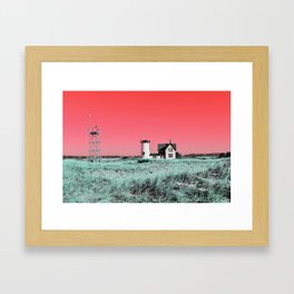 Hardings Lighthouse Framed Art Print