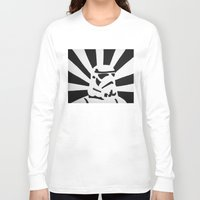 stormtrooper Long Sleeve T-shirts featuring StormTrooper by Shelly Lukas Art