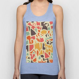Abstract drips Unisex Tank Top