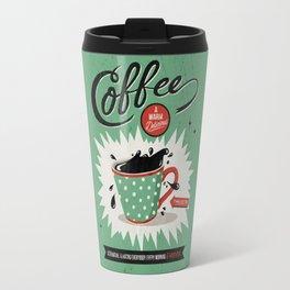 Saved By Coffee Travel Mug