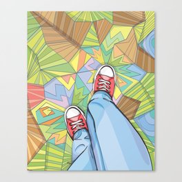 Converse Dream Canvas Print