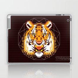 Geometric Tiger Laptop & iPad Skin