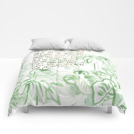 """""""Conquest of the Useless"""" by Werner Herzog Print (v. 3) Comforters"""
