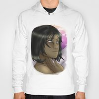 the legend of korra Hoodies featuring Korra - Balance by BlackPhoenixFeathers