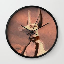 Anubis - God of Egypt Wall Clock