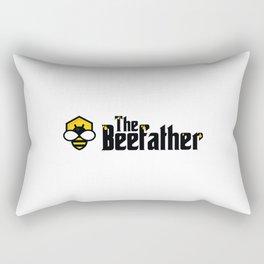 The Beefather - Bee Honey Beekeeper Honeycombs Rectangular Pillow