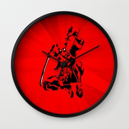 Dead Pool in Action Wall Clock