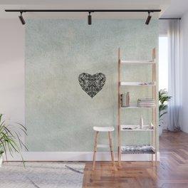 Transparent Heart Wall Mural