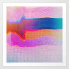 Glitch 24 Art Print