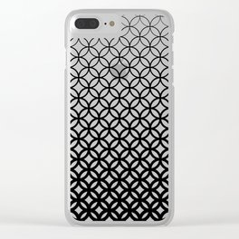 Halftone I Clear iPhone Case