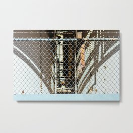 Pastel Gates Metal Print