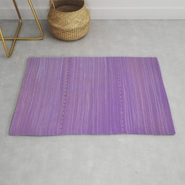 Purple Haze Metal Boxcar Closeup Rivets Rug