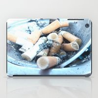 cigarettes iPad Cases featuring Cigarettes by Beatrice