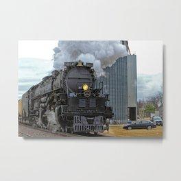 Big Boy 4014 Leaving Ellsworth Kansas USA Metal Print