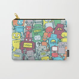 Robot Party Carry-All Pouch