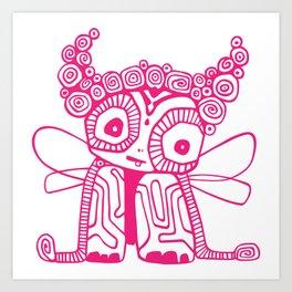 Pirouline Art Print