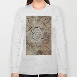 Tree rings of time Long Sleeve T-shirt