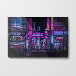 Kabukichou Gate, Tokyo Metal Print